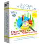 SOCIAL ANALYTICS 2-Sites Subscription