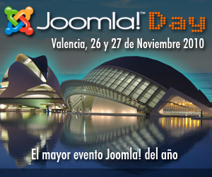 Joomla! Day 2010 Spain, in Valencia